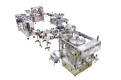 Complete bottling line